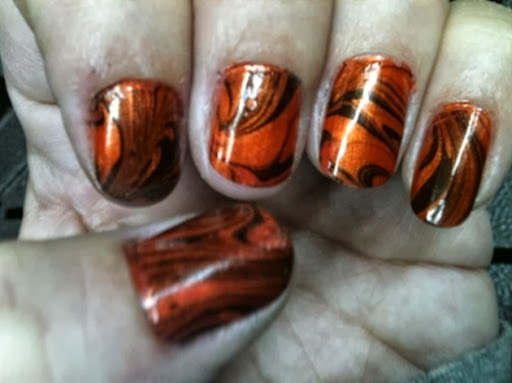 first try water marbling