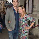 OIC - ENTSIMAGES.COM - Dominic Tighe and Penny Smith at the  Press night for The Comedy About A Bank Robbery in London April 21st 2016 Photo Mobis Photos/OIC 0203 174 1069