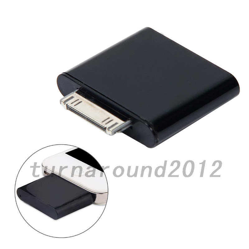 hot bluetooth transmitter adapter for ipod mini ipod classic ipod nano touch ebay. Black Bedroom Furniture Sets. Home Design Ideas