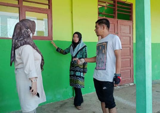 Wakil Ketua DPRD Balangan Serap Aspirasi Rehab Sekolah SMPN 2 Juai