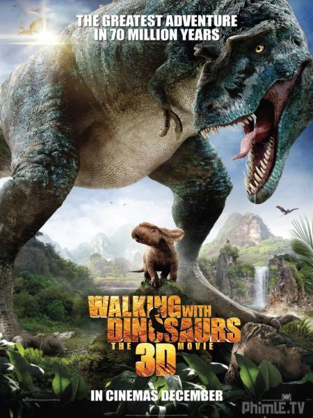 Phim Dạo Bước Cùng Khủng Long - Walking With Dinosaurs 3dwalking With Dinosaurs - VietSub