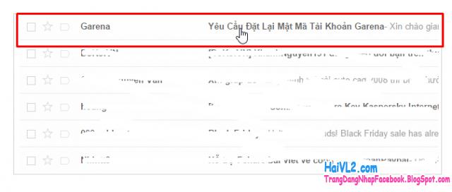 xác nhận email lấy lại mật khẩu garena, fifa online 3