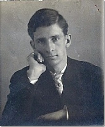 GOULD_Harry W_headshot with his hand next to his face_circa 1902-1907