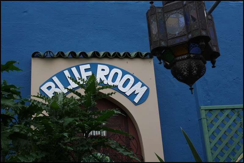 Blue Room at the World Garden