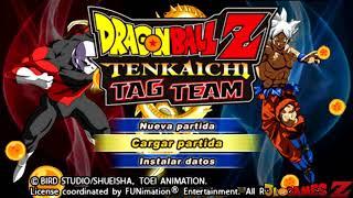 SAIU! NEW DRAGON BALL SUPER TENKAICHI TAG TEAM (Mod) + MENU PERMANENTE PARA ANDROID (PPSSPP)