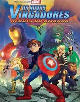 Capa Os Novos Vingadores Herois do Amanha Dublado 2008 Torrent