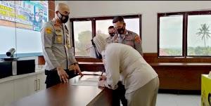 Kapolres Soppeng Pimpin Penandatanganan Pakta Integritas Penerimaan Terpadu Anggota Polri TA 2021