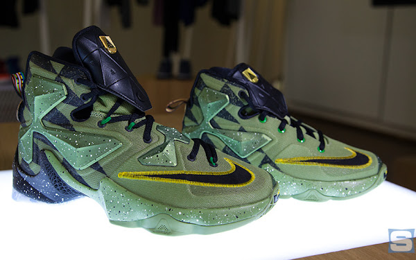 Closer Look at LeBron James' 2016 NBA All-Star Game Shoes ...  Closer Look at ...