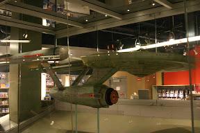 Model of the USS Enterprise