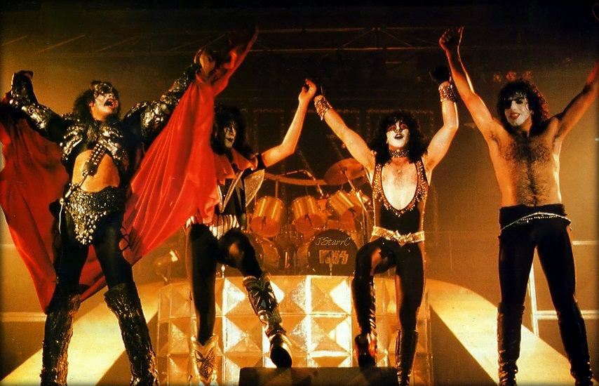 KISS-October 1980-Unmasked tour -Germany