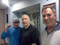 July 2011. From right to Left 1st. Jim H. 2nd Jim W 3rd Vince