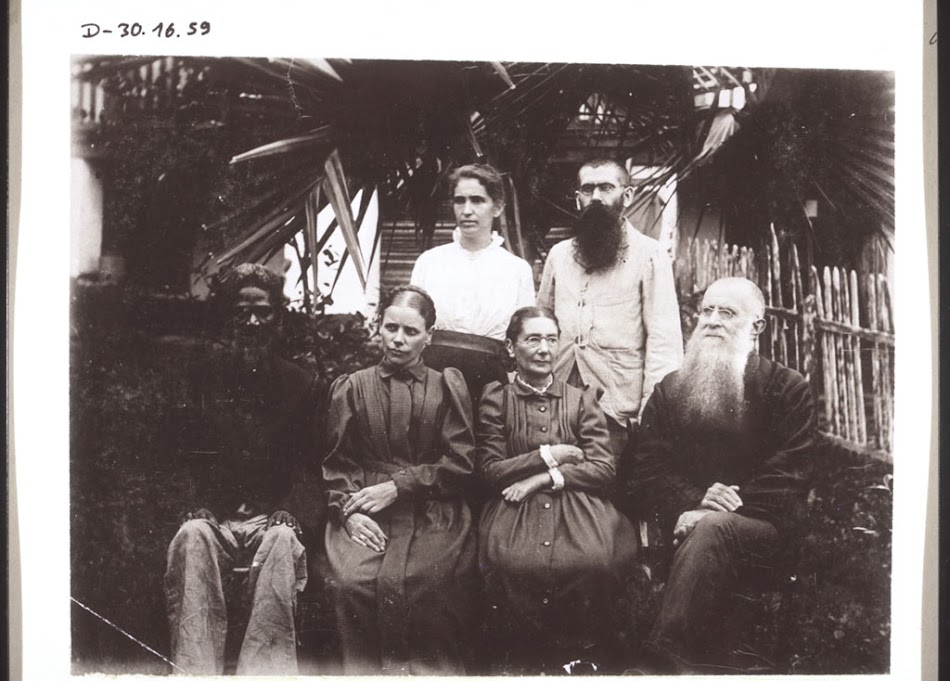 The Ramseyers, Jost, Mrs  Haasis, Catechist Adaye  - BM Archives