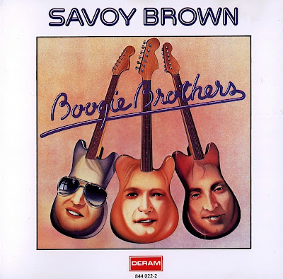 Savoy Brown ~ 1974 ~ Boogie Brothers