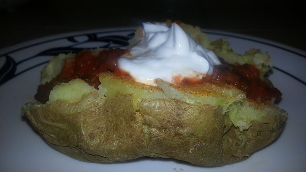 """Baked"" Potatoes for Daniel Fast"