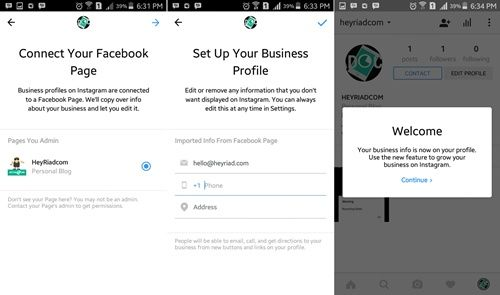 lengkap disertai gambar semoga lebih gampang untuk mempraktekannya Cara Membuat Akun Profil Bisnis Instagram + Gambar