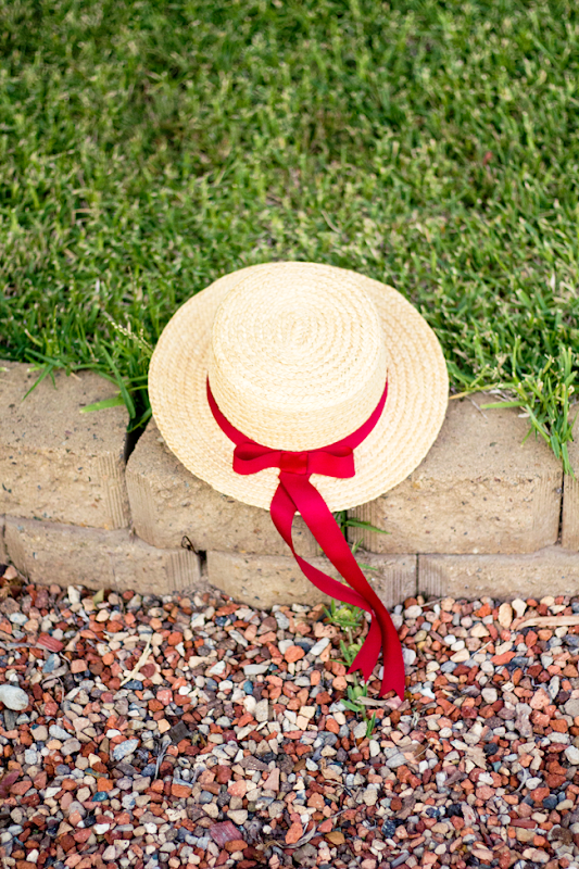 Straw Boater Hats for summer, vintage style | Lavender & Twill