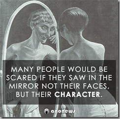 many people scared-mirror