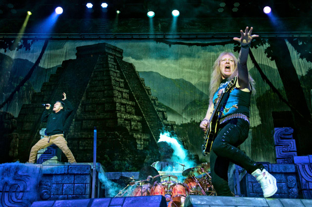 The book of souls tour 2016 new york iron maiden the beast The killers madison square garden