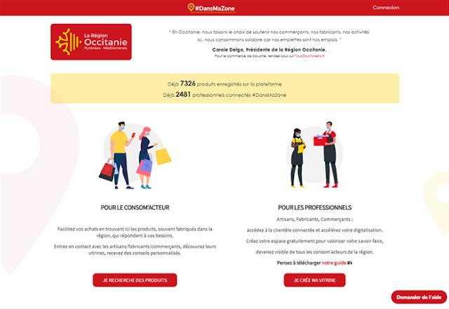 plateforme e-commerce régionale