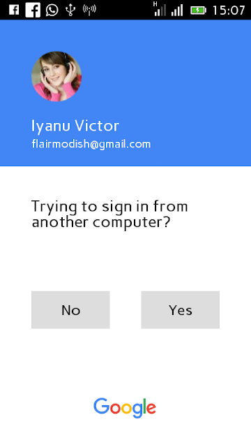 How to sign in to your Google Account without password