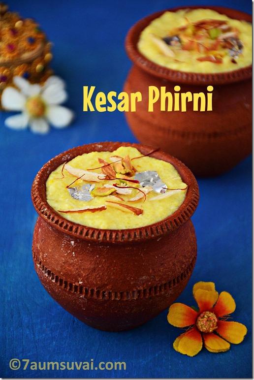 Kesar phirni