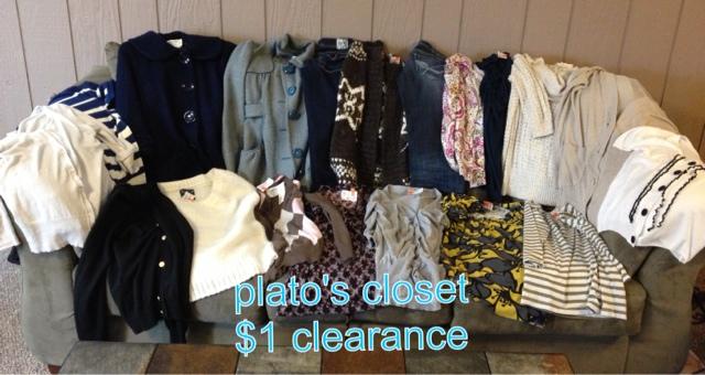 Plato's Closet $1 Clearance Sale