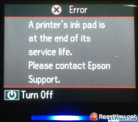 PREVENT Epson L220 WASTE INK COUNTERS Overflow