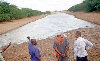 Bura Irrigation scheme dam. PHOTO | NMG