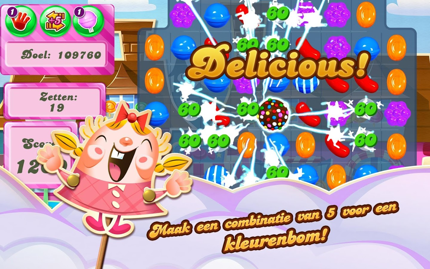 Candy Crush Saga: screenshot