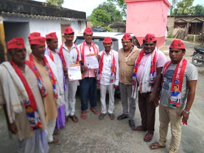 मोरवा में विकासशील इंसान पार्टी ने चलाई सदस्यता अभियान