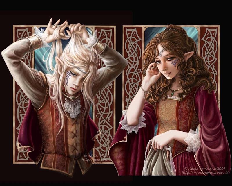 Two Elven Princesses, Elven Girls 2