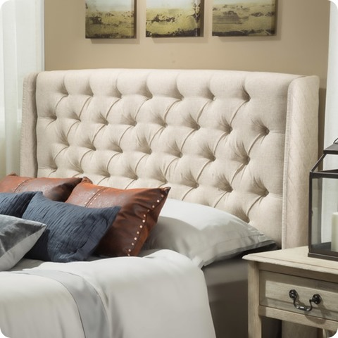 atlanta tufted headboard