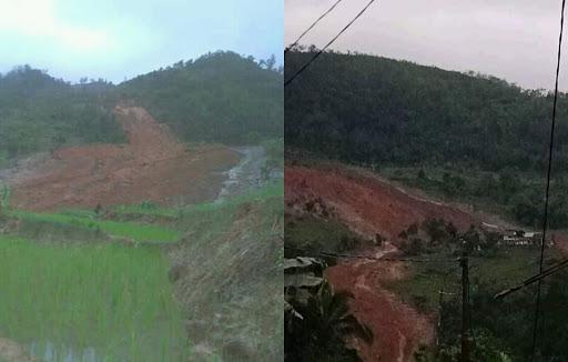 Longsor Timbun Puluhan Rumah di Cisolok Sukabumi, 4 Warga Tewas
