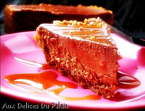 Cheesecake au kiri et au chocolat