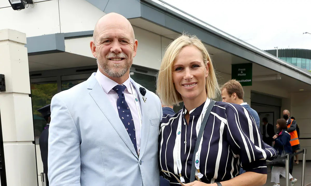 Mike and Zara Tindall Enjoy a Date Day at Wimbledon Ahead of Milestone Celebration