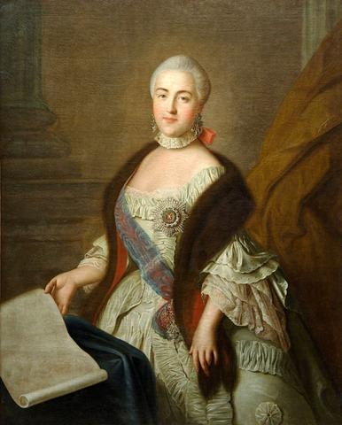 Catalina la Grande de Rusia_1760