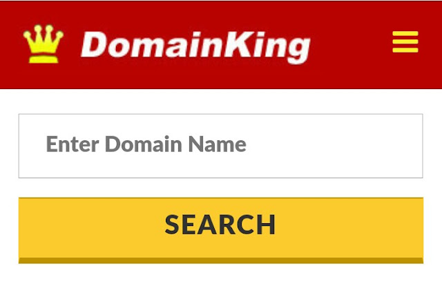 DomainKing domain booking