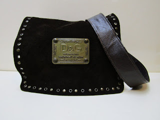Dolce & Gabbana Suede Crossbody Bag