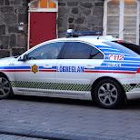 Icelandic Police in Reykjavik, Hofuoborgarsvaeoi, Iceland