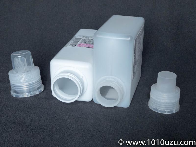 入浴剤用詰替容器520ml(無印良品) ¥350 素材:ポリプロピレン