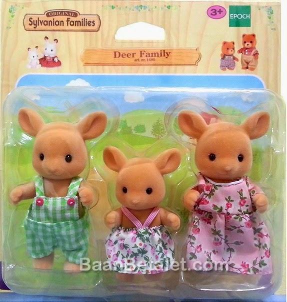 Đồ chơi gia đình nhà Nai - Deer Family là món quà dành cho các bé gái