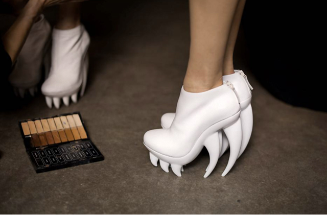 Iris Van Herpen x United Nude Spring Summer 2012 Haute Couture Shoes