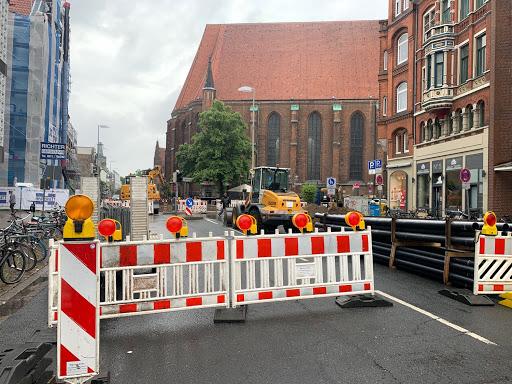 Bauarbeiten Schmiedestraße