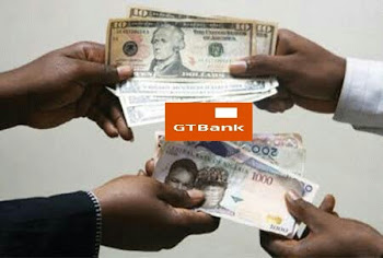 Gtbank exchange rate