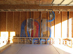 Garage plumbing before drywall. 4/27/15
