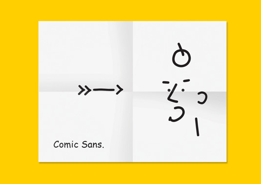 Si las fuentes tipográficas fueran personas, así es como lucirían