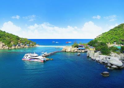 Snorkel Tour to Koh Nangyuan including Catamaran Cruise from Koh Phangan to Koh Tao