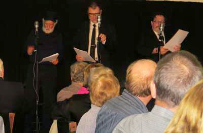 The Goon Show LIVE! on stage