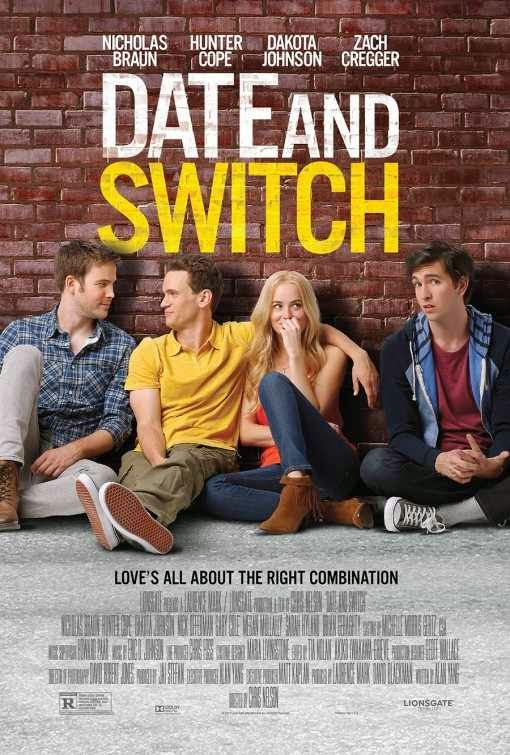 Poster Of English Movie Date and Switch (2014) Free Download Full New Hollywood Movie Watch Online At Alldownloads4u.Com