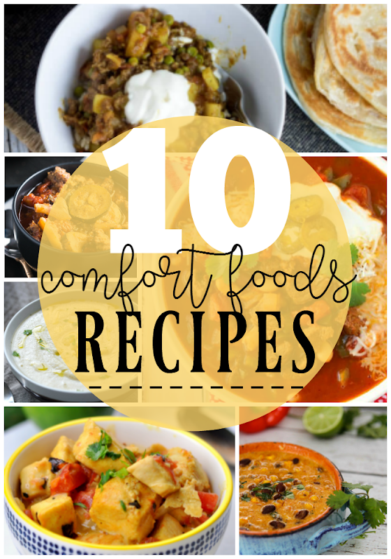 10 Comfort Foods Recipes at GingerSnapCrafts.com #recipes #comfortfoods